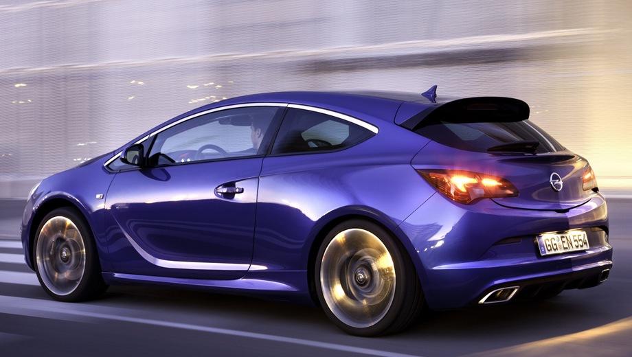 Opel Astra OPC. Выпускается с 2012 года. Одна базовая комплектация. Марка официально не представлена на российском рынке.Двигатель 2.0, бензиновый. Привод передний. КПП: механическая.