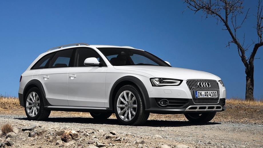 Audi A4 allroad (2009). Выпускается с 2009 года. Две базовые комплектации. Цены от 2 121 000 до 2 191 000 руб.Двигатель 2.0, бензиновый. Привод полный. КПП: механическая и роботизированная.