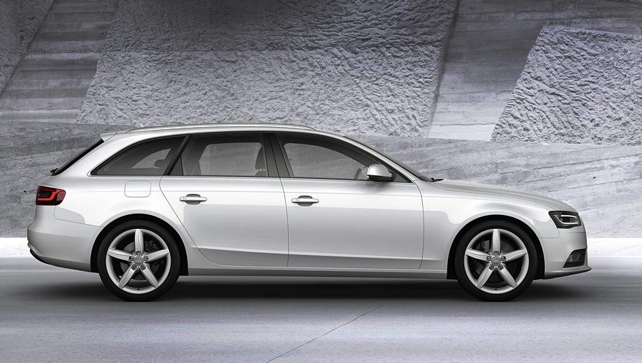 Audi A4 Avant (2008). Выпускается с 2008 года. Двенадцать базовых комплектаций. Цены от 1 550 000 до 2 770 000 руб.Двигатель от 1.8 до 3.0, бензиновый и дизельный. Привод передний и полный. КПП: механическая, вариатор и роботизированная.