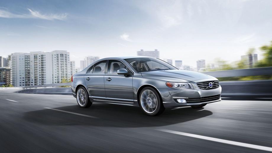 Volvo S80. Выпускается с 2006 года. Четыре базовые комплектации. Цены от 2 049 000 до 2 309 000 руб.Двигатель 2.0, бензиновый и дизельный. Привод передний. КПП: автоматическая.