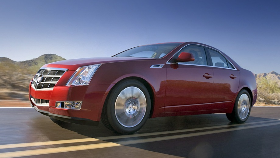 Cadillac CTS (2008). Выпускается с 2008 года. Две базовые комплектации. Цены от 1 895 000 до 1 995 000 руб.Двигатель 3.6, бензиновый. Привод задний и полный. КПП: автоматическая.