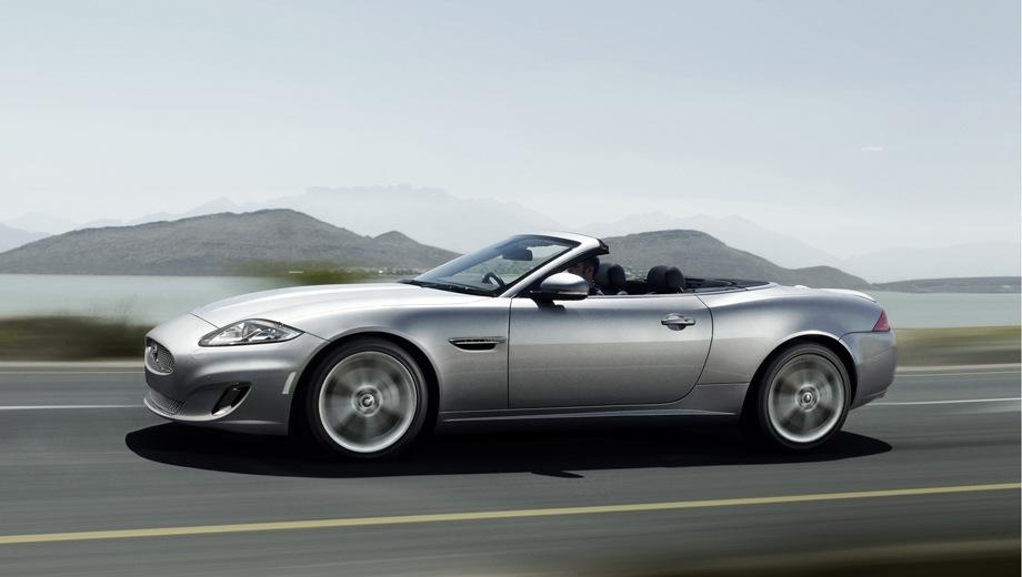 Jaguar XK Convertible. Выпускается с 2006 года. Две базовые комплектации. Цены от 5 370 000 до 5 770 000 руб.Двигатель 5.0, бензиновый. Привод задний. КПП: автоматическая.