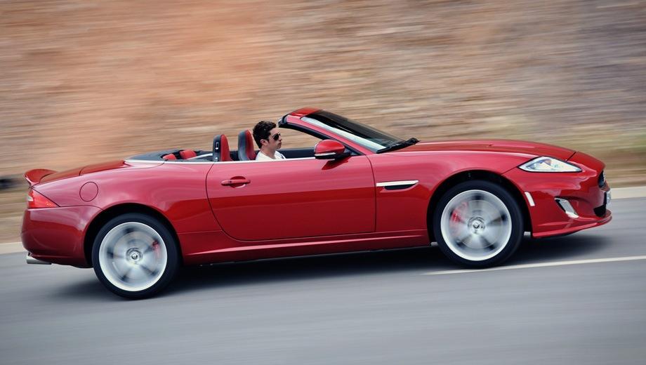Jaguar XKR Convertible. Выпускается с 2006 года. Одна базовая комплектация. Цена 6 420 000 руб.Двигатель 5.0, бензиновый. Привод задний. КПП: автоматическая.