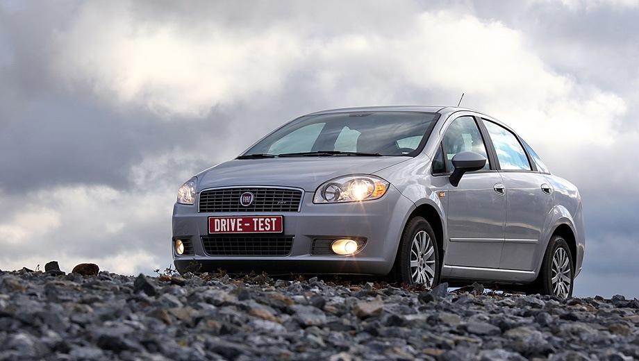 FIAT Linea. Выпускается с 2007 года. Четыре базовые комплектации. Цены от 594 900 до 688 200 руб.Двигатель 1.4, бензиновый. Привод передний. КПП: механическая.