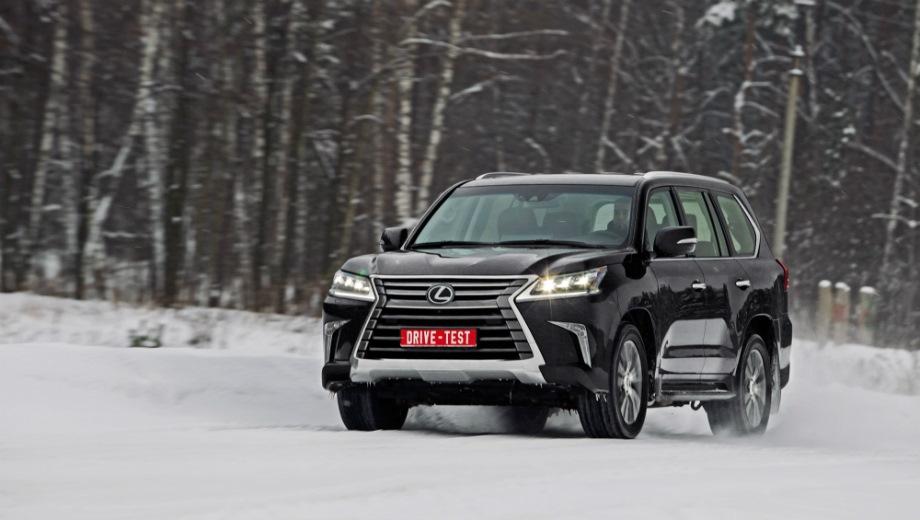 Lexus LX. Выпускается с 2008 года. Пять базовых комплектаций. Цены от 6 665 000 до 7 519 000 руб.Двигатель от 4.5 до 5.7, дизельный и бензиновый. Привод полный. КПП: автоматическая.