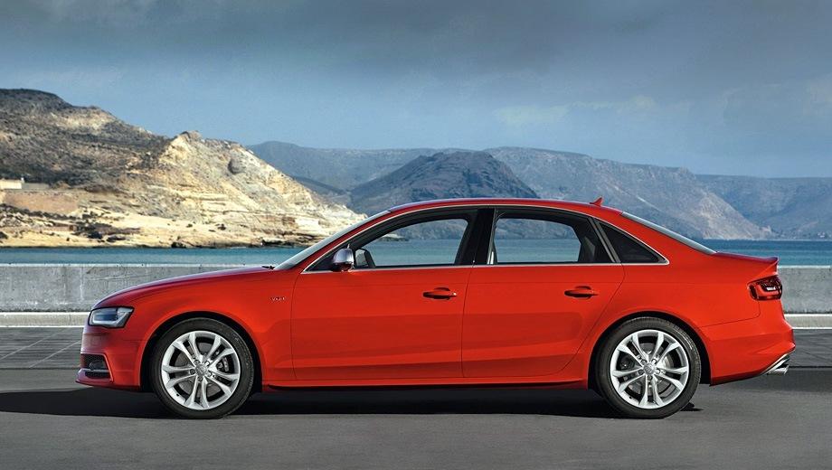 Audi S4. Выпускается с 2008 года. Одна базовая комплектация. Цена 3 300 000 руб.Двигатель 3.0, бензиновый. Привод полный. КПП: роботизированная.