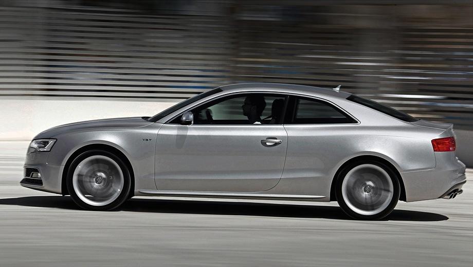 Audi S5 (2007). Выпускается с 2007 года. Одна базовая комплектация. Цена 3 845 000 руб.Двигатель 3.0, бензиновый. Привод полный. КПП: роботизированная.