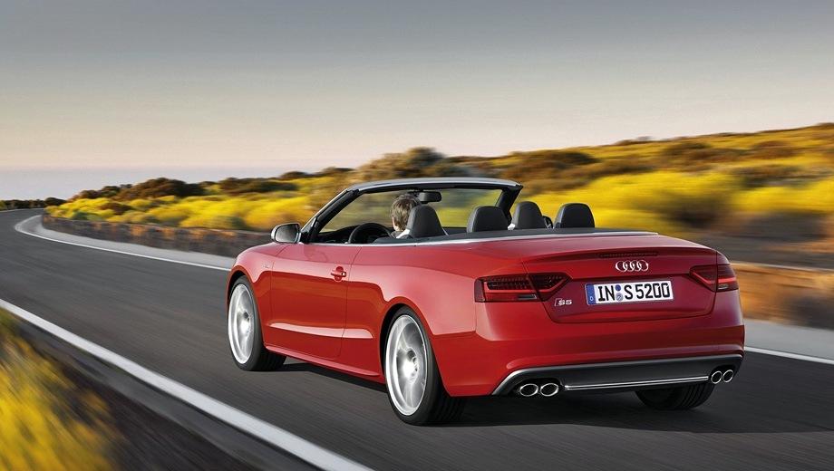 Audi S5 Cabriolet. Выпускается с 2008 года. Одна базовая комплектация. Цена 4 000 000 руб.Двигатель 3.0, бензиновый. Привод полный. КПП: роботизированная.