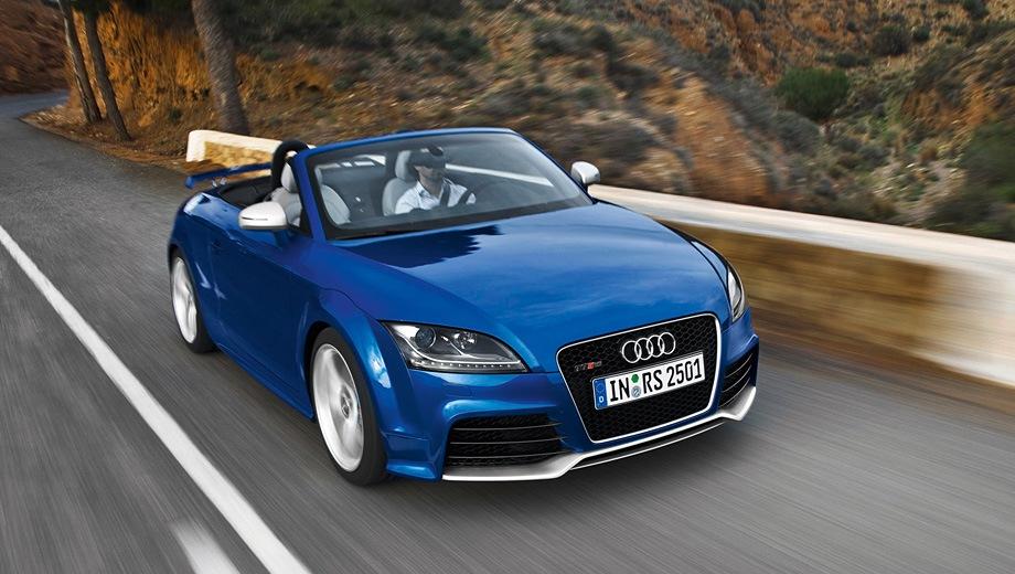 Audi TT RS Roadster. Выпускается с 2009 года. Одна базовая комплектация. Цена 2 952 000 руб.Двигатель 2.5, бензиновый. Привод полный. КПП: роботизированная.