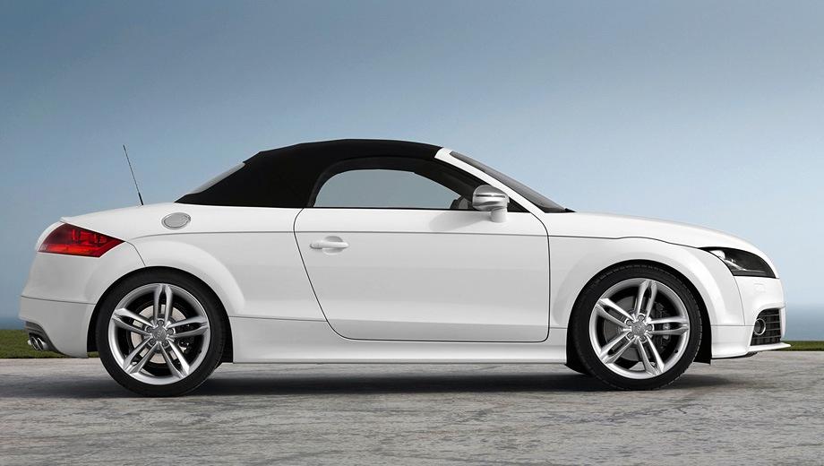 Audi TTS Roadster. Выпускается с 2006 года. Две базовые комплектации. Цены от 2 437 700 до 2 507 700 руб.Двигатель 2.0, бензиновый. Привод полный. КПП: механическая и роботизированная.