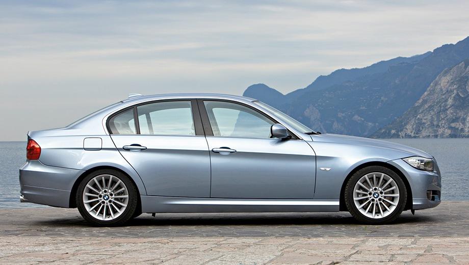 BMW 3-series Limousine. Выпускается с 2005 года. Двенадцать базовых комплектаций. Цены от 1 199 000 до 2 244 000 руб.Двигатель от 2.0 до 3.0, бензиновый и дизельный. Привод задний и полный. КПП: автоматическая и механическая.
