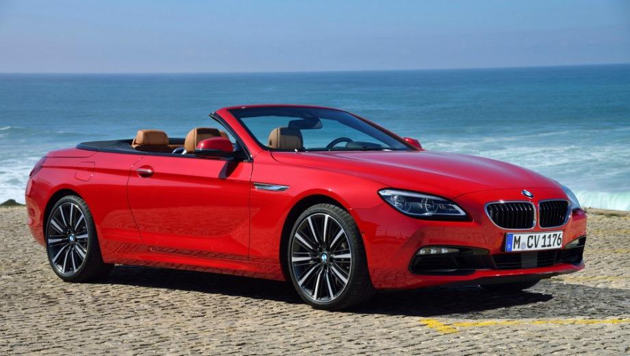 BMW 6 Series Convertible. Выпускается с 2010 года. Четыре базовые комплектации. Цены от 5 110 000 до 5 930 000 руб.Двигатель от 3.0 до 4.4, бензиновый. Привод задний и полный. КПП: автоматическая.