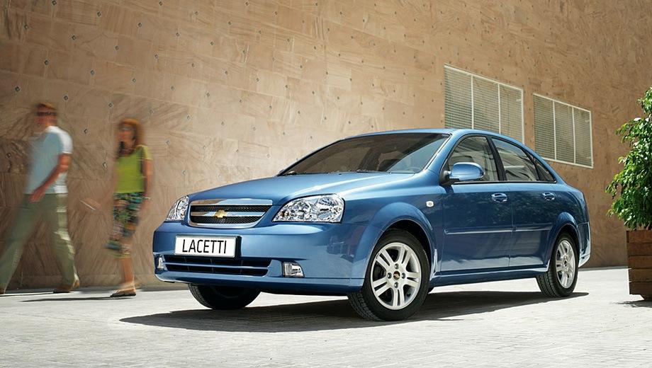 Chevrolet Lacetti Sedan. Выпускается с 2004 года. Четыре базовые комплектации. Цены от 462 500 до 587 600 руб.Двигатель от 1.4 до 1.6, бензиновый. Привод передний. КПП: механическая и автоматическая.