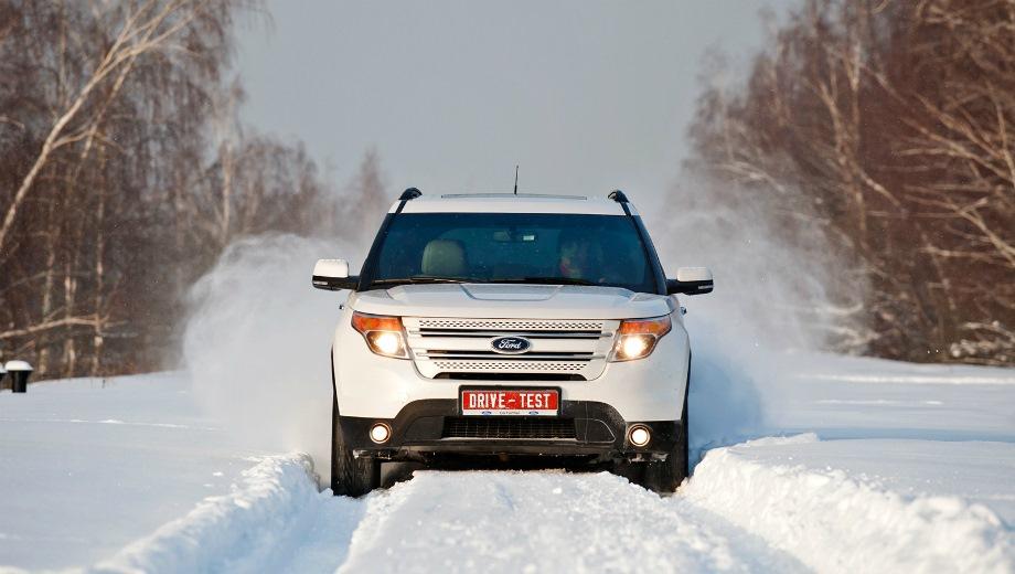 Ford Explorer (2011). Выпускается с 2011 года. Три базовые комплектации. Цены от 2 449 000 до 2 999 000 руб.Двигатель 3.5, бензиновый. Привод полный. КПП: автоматическая.