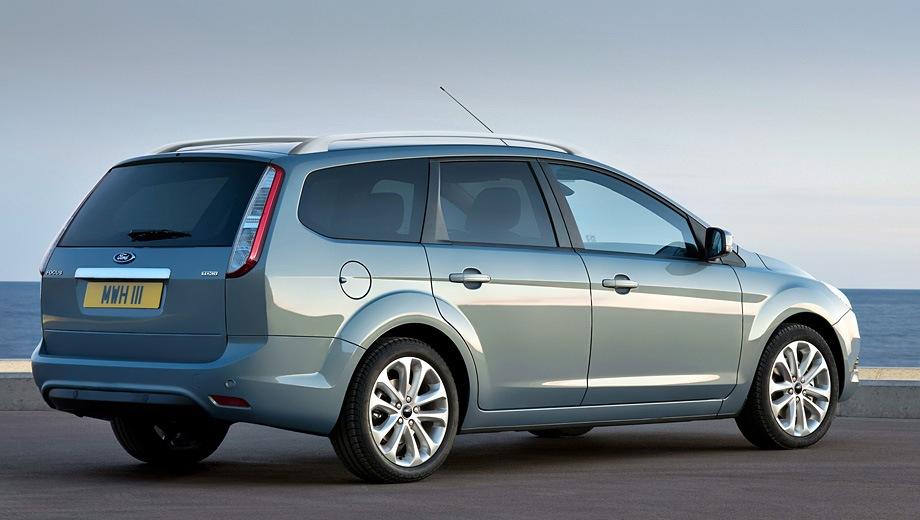Ford Focus Wagon (2004). Выпускается с 2004 года. Четырнадцать базовых комплектаций. Цены от 604 000 до 765 000 руб.Двигатель от 1.4 до 2.0, бензиновый и дизельный. Привод передний. КПП: механическая и автоматическая.