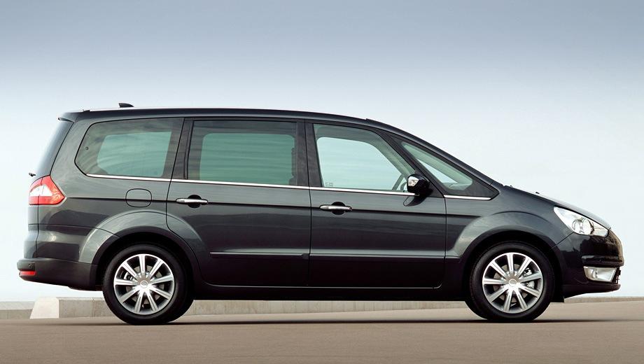 Ford Galaxy. Выпускается с 2006 года. Девять базовых комплектаций. Цены от 1 340 000 до 1 670 000 руб.Двигатель от 2.0 до 2.3, бензиновый и дизельный. Привод передний. КПП: механическая, автоматическая и роботизированная.