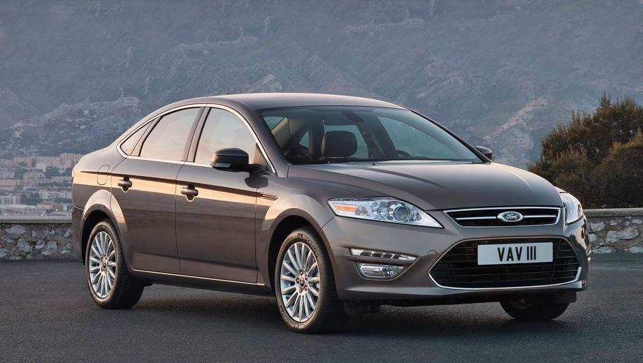 Ford Mondeo Sedan (2007). Выпускается с 2007 года. Десять базовых комплектаций. Цены от 1 119 000 до 1 599 000 руб.Двигатель от 1.6 до 2.3, бензиновый и дизельный. Привод передний. КПП: механическая, автоматическая и роботизированная.