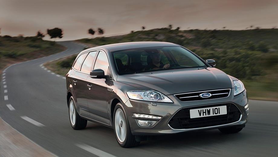 Ford Mondeo Wagon. Выпускается с 2007 года. Шесть базовых комплектаций. Цены от 1 012 000 до 1 301 000 руб.Двигатель от 2.0 до 2.3, бензиновый и дизельный. Привод передний. КПП: механическая, автоматическая и роботизированная.