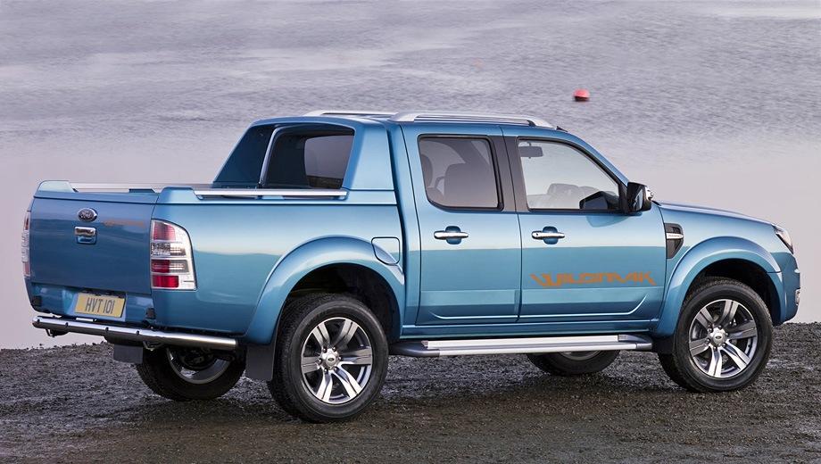 Ford Ranger. Выпускается с 2006 года. Десять базовых комплектаций. Цены от 849 500 до 1 280 000 руб.Двигатель 2.5, дизельный. Привод полный. КПП: механическая и автоматическая.
