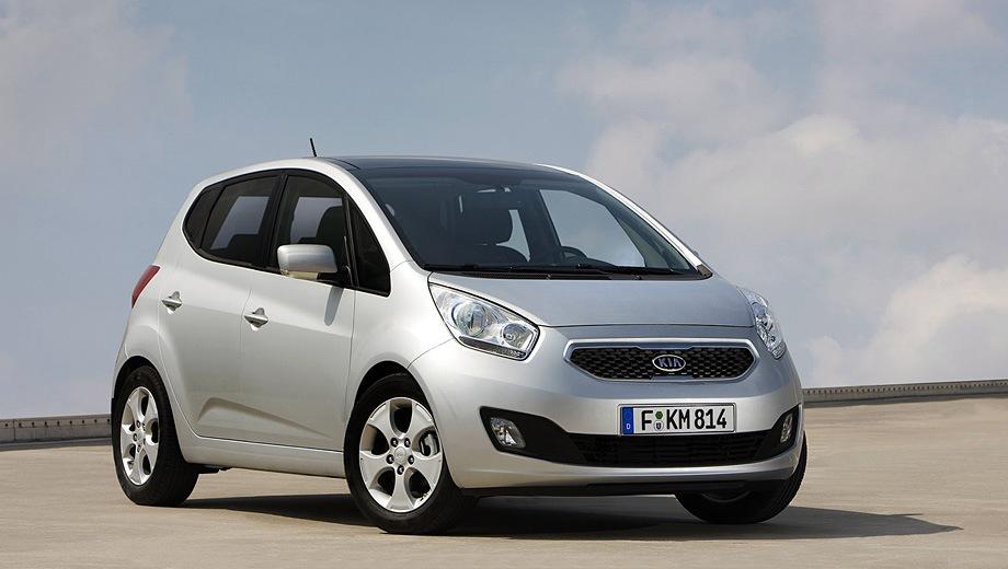 KIA Venga (2010). Выпускается с 2010 года. Пять базовых комплектаций. Цены от 704 900 до 854 900 руб.Двигатель от 1.4 до 1.6, бензиновый. Привод передний. КПП: механическая и автоматическая.