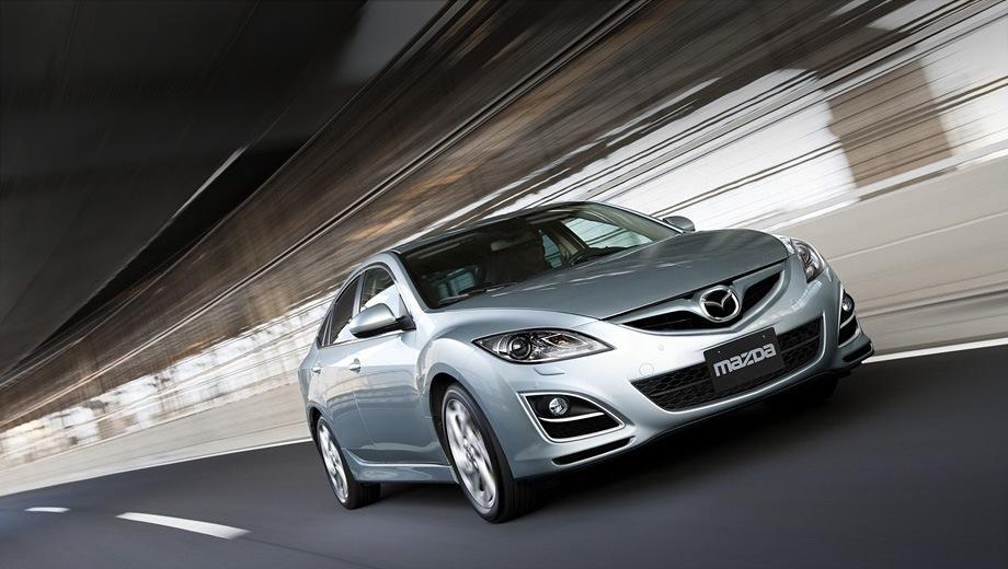 Mazda 6 Hatchback. Выпускается с 2007 года. Шесть базовых комплектаций. Цены от 865 000 до 1 234 000 руб.Двигатель от 1.8 до 2.5, бензиновый. Привод передний. КПП: механическая и автоматическая.