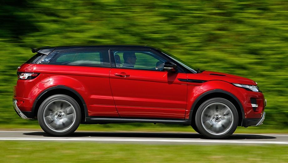 Land Rover Range Rover Evoque Coupe. Выпускается с 2011 года. Четыре базовые комплектации. Цены от 3 582 000 до 4 348 000 руб.Двигатель 2.0, дизельный и бензиновый. Привод полный. КПП: автоматическая.