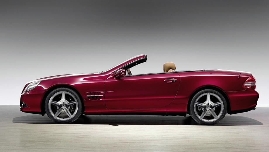 Mercedes-Benz SL (2001). Выпускается с 2001 года. Три базовые комплектации. Цены от 4 600 000 до 8 700 000 руб.Двигатель от 3.5 до 5.5, бензиновый. Привод задний. КПП: автоматическая.