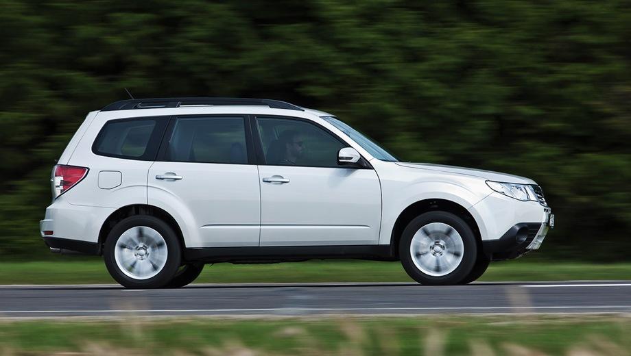Subaru Forester (2008). Выпускается с 2008 года. Восемнадцать базовых комплектаций. Цены от 1 088 200 до 2 130 000 руб.Двигатель от 2.0 до 2.5, бензиновый. Привод полный. КПП: механическая и автоматическая.