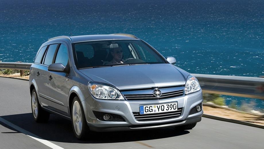 Opel Astra Caravan. Выпускается с 2004 года. Шесть базовых комплектаций. Марка официально не представлена на российском рынке.Двигатель от 1.6 до 1.8, бензиновый. Привод передний. КПП: механическая и автоматическая.