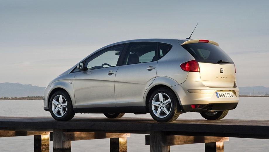 SEAT Altea. Выпускается с 2004 года. Одна базовая комплектация. Марка официально не представлена на российском рынке.Двигатель 1.2, бензиновый. Привод передний. КПП: механическая.