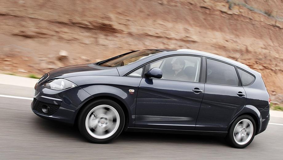 SEAT Altea XL. Выпускается с 2004 года. Одна базовая комплектация. Марка официально не представлена на российском рынке.Двигатель 1.2, бензиновый. Привод передний. КПП: механическая.