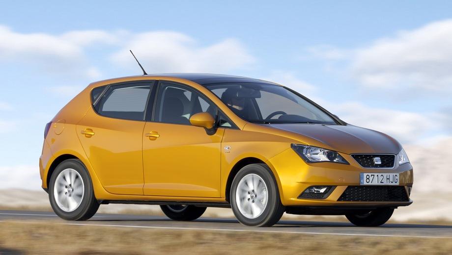 SEAT Ibiza. Выпускается с 2008 года. Восемь базовых комплектаций. Марка официально не представлена на российском рынке.Двигатель от 1.2 до 1.6, бензиновый. Привод передний. КПП: механическая и роботизированная.