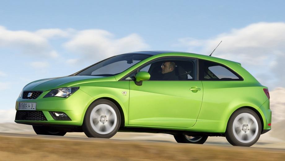 SEAT Ibiza SC. Выпускается с 2008 года. Восемь базовых комплектаций. Марка официально не представлена на российском рынке.Двигатель от 1.2 до 1.6, бензиновый. Привод передний. КПП: механическая и роботизированная.