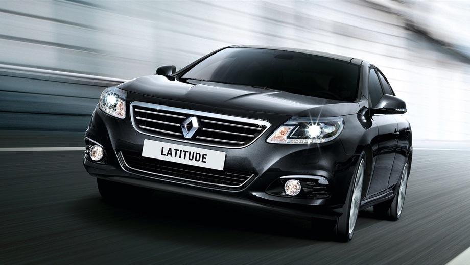 Renault Latitude. Выпускается с 2010 года. Шесть базовых комплектаций. Цены от 1 089 000 до 1 532 000 руб.Двигатель от 2.0 до 2.5, бензиновый. Привод передний. КПП: вариатор и автоматическая.