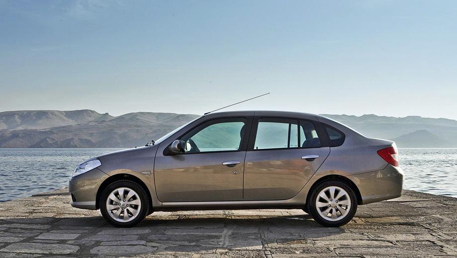 Renault Symbol. Выпускается с 2008 года. Три базовые комплектации. Цены от 499 000 до 579 000 руб.Двигатель 1.6, бензиновый. Привод передний. КПП: механическая и автоматическая.