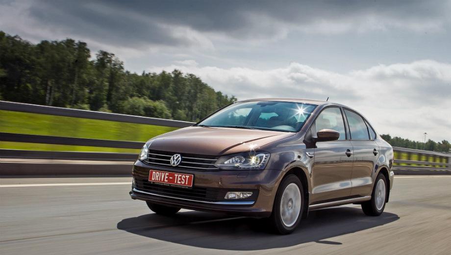 Volkswagen Polo Sedan (2010). Выпускается с 2010 года. Четырнадцать базовых комплектаций. Цены от 716 900 до 993 900 руб.Двигатель от 1.4 до 1.6, бензиновый. Привод передний. КПП: механическая, автоматическая и роботизированная.