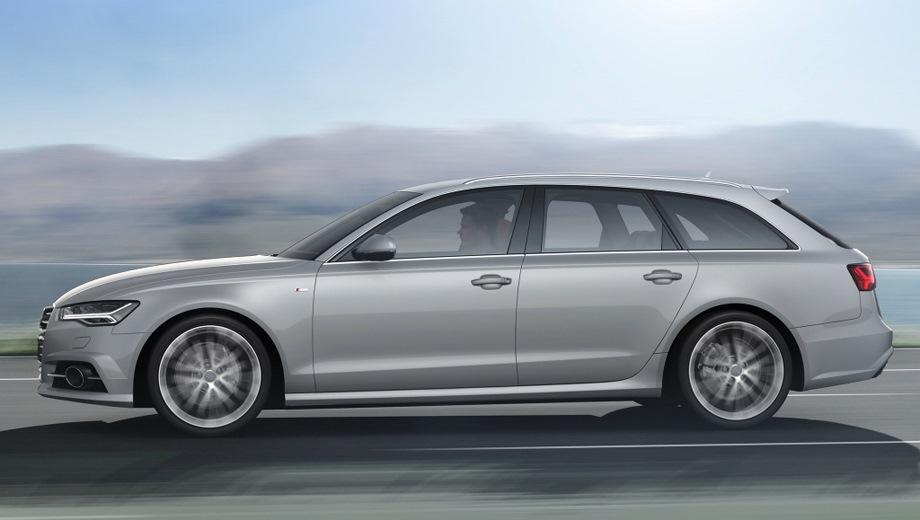 Audi A6 Avant. Выпускается с 2011 года. Одиннадцать базовых комплектаций. Цены от 2 740 000 до 4 202 000 руб.Двигатель от 1.8 до 3.0, бензиновый и дизельный. Привод передний и полный. КПП: механическая и роботизированная.