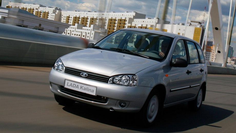 Lada Kalina wagon (2007). Выпускается с 2007 года. Семь базовых комплектаций. Цены от 267 000 до 355 900 руб.Двигатель от 1.4 до 1.6, бензиновый. Привод передний. КПП: механическая.