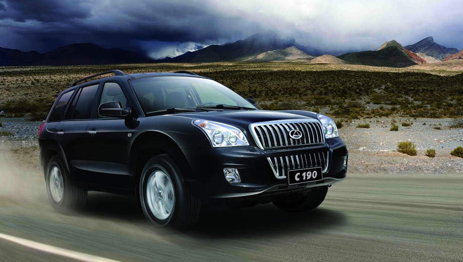 ТагАЗ C190. Выпускается с 2011 года. Одна базовая комплектация. Цена 699 900 руб.Двигатель 2.4, бензиновый. Привод полный. КПП: механическая.