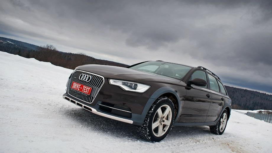 Audi A6 Allroad. Выпускается с 2011 года. Три базовые комплектации. Цены от 4 222 000 до 4 622 000 руб.Двигатель 3.0, бензиновый. Привод полный. КПП: роботизированная.