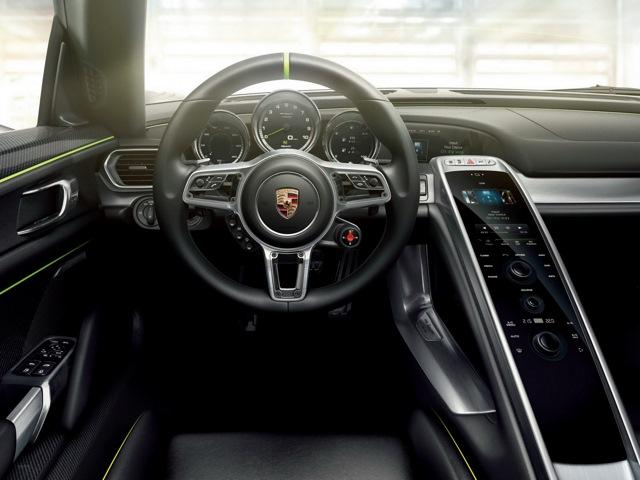 porsche 918 spyder hybrid характеристики