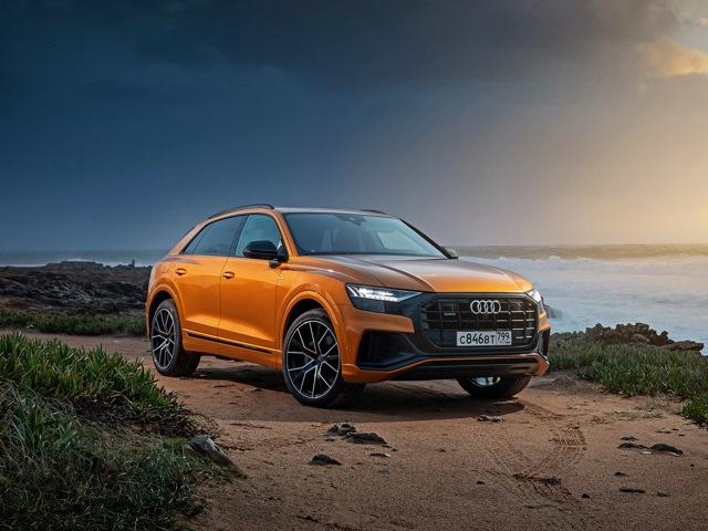 Audi Q8 цены комплектации тест драйвы отзывы форум фото видео