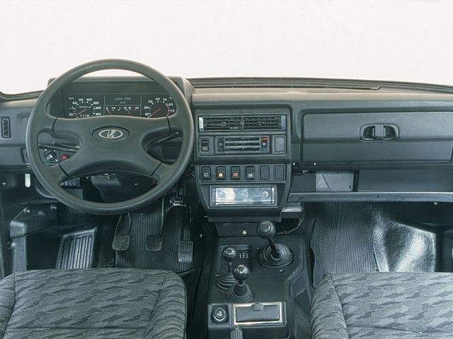 """LADA 21310-120-40  """"НИВА """" (5и дверная), усилитель руля, механический привод наружных зеркал, обивка сидений - твид..."""