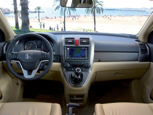 комплектации honda cr-v 2008