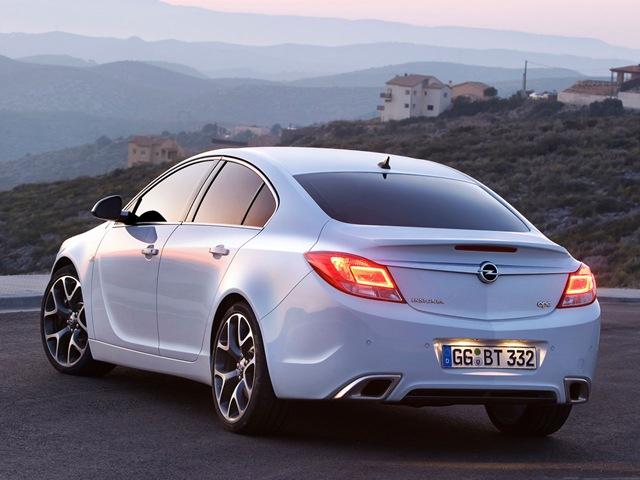 Фото Opel Insignia Sedan OPC…